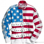 Adidas Stars and Stripes Track Top by Jeremy Scott